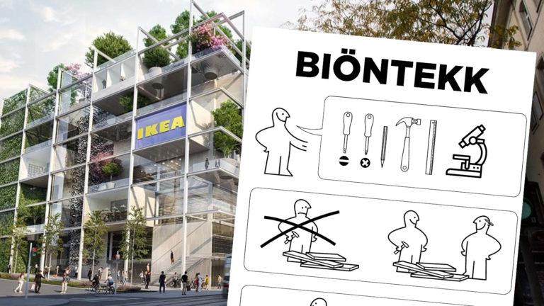 Ikea mit Ikea-Anleitung