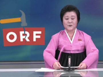 Nordkoreanische TV-Sprecherin