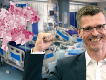 Spitzenkandidat Aigner triumphiert in Mitten der Intensivstation