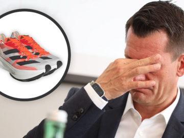 Mückstein ärgert sich über seine Schuhauswahl