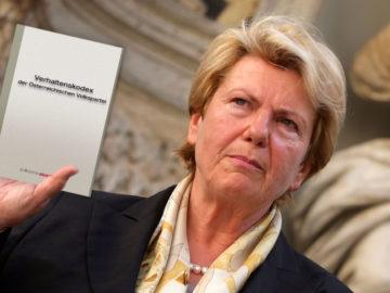 Klasnic präsentiert den ÖVP Verhaltenskodex