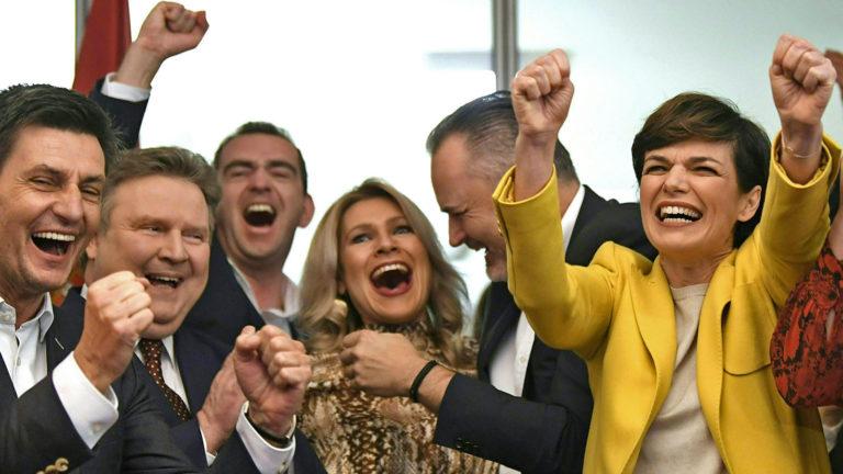 Die SPÖ-Führung jubelt über die guten Umfragewerte