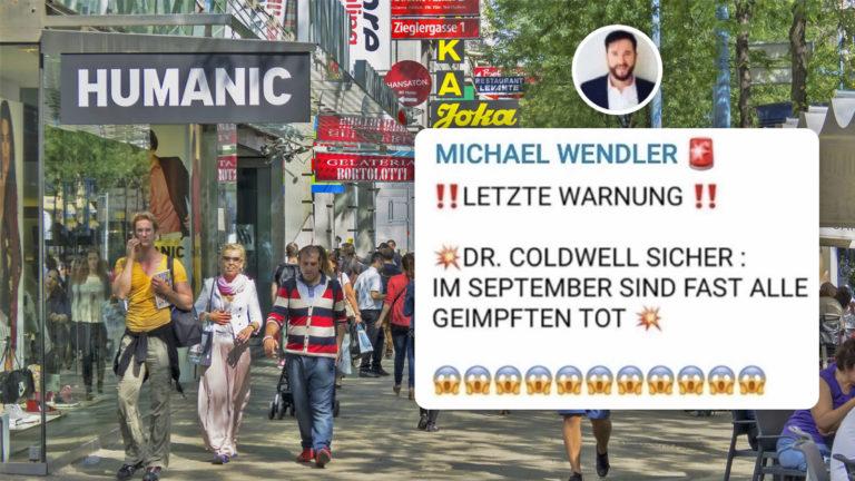 Der Wendler weist auf Telegram hinlänglich der Gefahren der Impfung hin