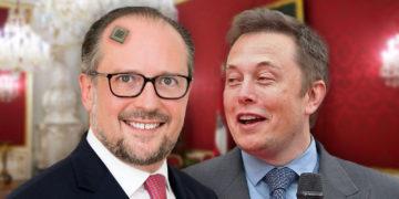 Musk blickt begeistert auf den neuen Kanzler